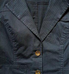 🌷Стильный пиджак под джинсы 44 - 46 размер