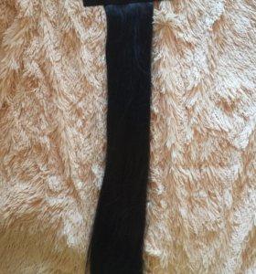Накладные волосы на заколке, хвост