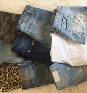 Джинсы, шорты, майки, платья