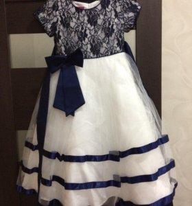 Платье на выпусконой