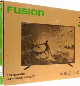 """Новый lеd-тв Fusion 32""""(82см). Доставка бесплатная"""