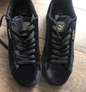 Новые кроссовки Puma вельветовые
