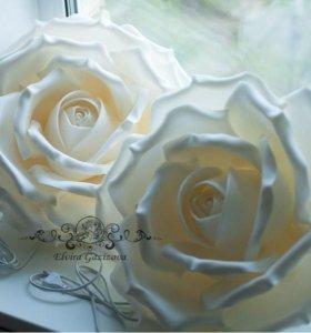 Роза-светильник.