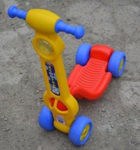 Каталка Самокат mini scooter