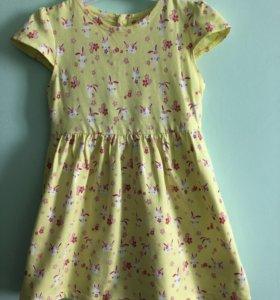 Летнее платье 80 размера