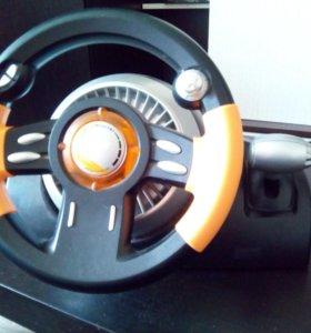 Игровой руль genius speed wheel 3