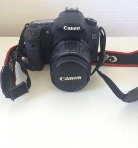 Зеркальный фотоаппарат Canon d60 kit