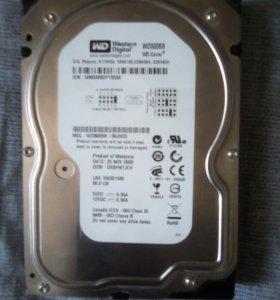 Жёсткий диск для компьютера WD 80Gb