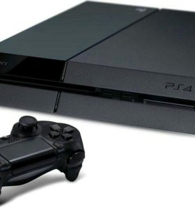 PS4 + 4 игры