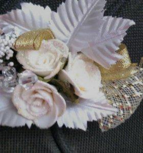 Украшение для свидетеля жениха на свадьбу