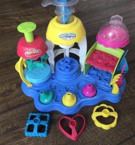 Фабрика пирожных Play-Doh