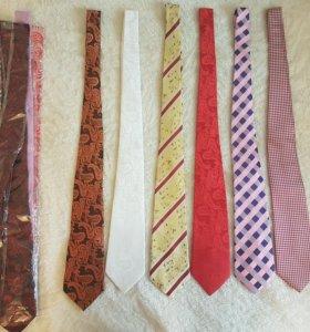 Галстуки и зажимы для галстуков новые