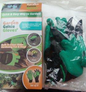 Перчатки с когтями для сада/огорода