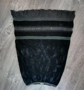 Бархатная юбка оригинал