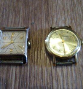 механические часы не на ходу 4шт 1960-90 г в