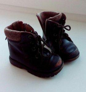 Ботинки демисезон 21 размер