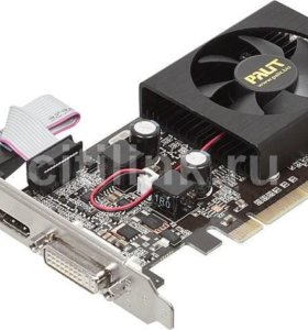 Видеокарта Palit GeForce 210 589Mhz PCI-E 2.0 1024