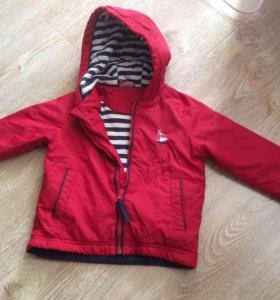 Легкая куртка 86 размер