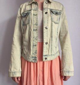 Джинсовая куртка Zara trf