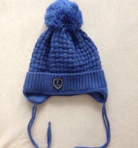 Новая шапка для мальчика 1-2 года