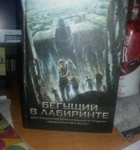 """Книга """"Бегущий в лабиринте""""1 часть"""