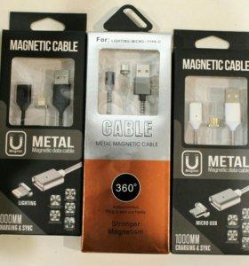 Магнитный кабель MicroUSB