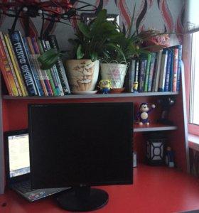 Монитор,клавиатура,колонки