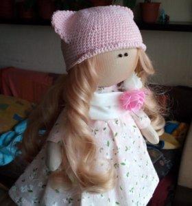 Кукла интерьерная (тильда).
