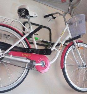Новый велосипед Аист