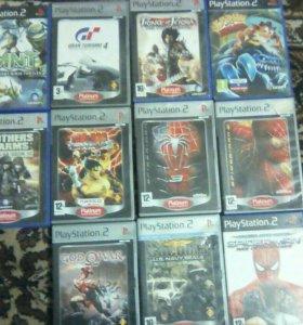 Диски на Playstation 2