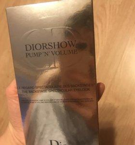 Новая тушь + сыворотка -база для ресниц Dior