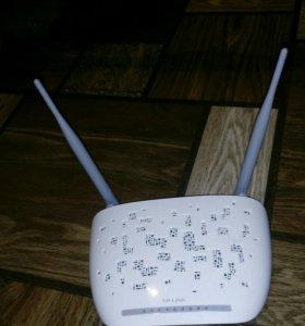 Wi-fi роутер адсл