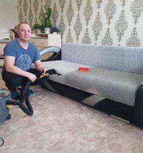 Химчистка мебели, диванов (опыт более 5 лет)