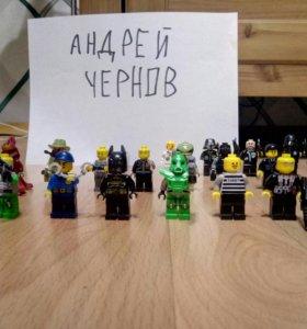 LEGO персонажи и их кастомизация.