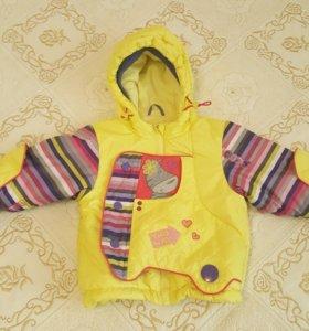 Продам куртку и комбинезон для девочки