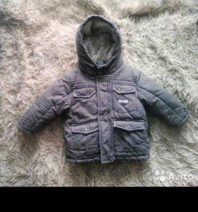 Куртка на мальчика 3 в 1