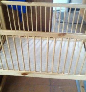Детская кровать-люлька