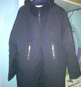 Куртка женская синия