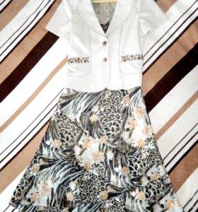 Платье + пиджак фирмы YIMIYI