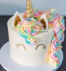 Торты,кейк попсы,капкейки,конфеты