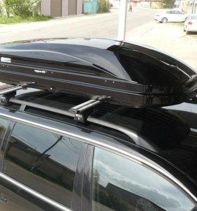 Автобокс Магнум 420 черный металлик