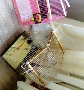Клетка для попугая(подойдет для карантина)