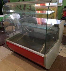 Витрина кондитерская-холодильник
