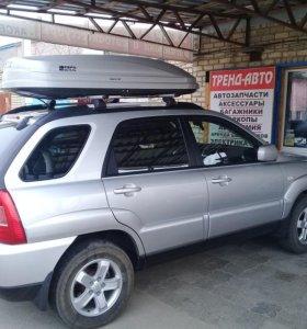 Автобокс Магнум 420 серый глянец