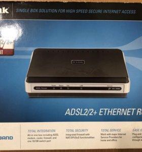 Интернет роутер D-Link DSL-2500u