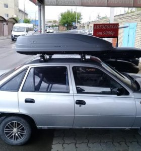 Автобокс Магнум 390 Серый карбон