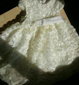 Чудесное нарядное детское платье