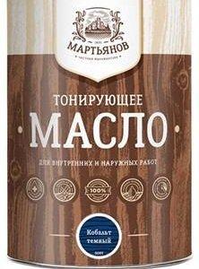 """Тонирующее масло """"Мартьянов"""""""