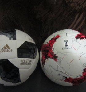 Мячи красава и telstar 18