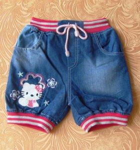 Шорты джинсовые (р-р на 2-3 года, новые)